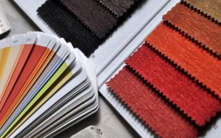 muestras de colores
