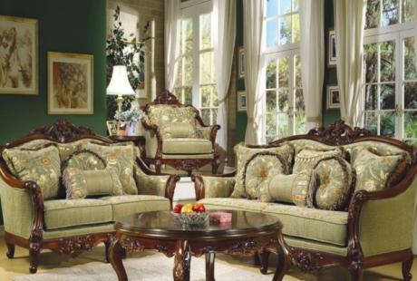 sala estilo victoriano