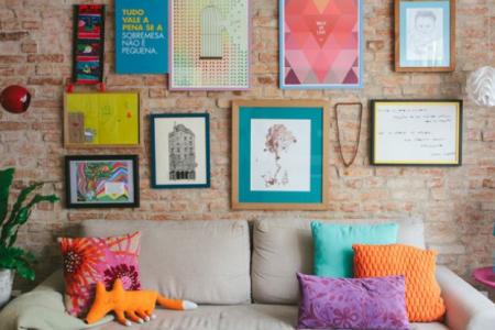 Sala con colores equilibrados