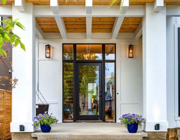 entrada principal de casa
