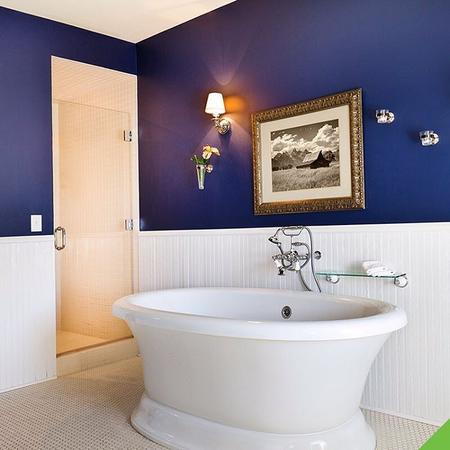 combinación de color para tu baño