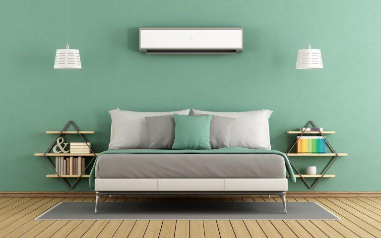 colores verdosos para habitación